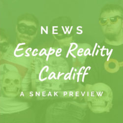 A preview of Escape Reality Cardiff