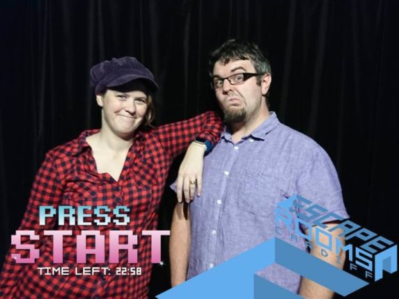 Press Start at Escape Rooms Cardiff