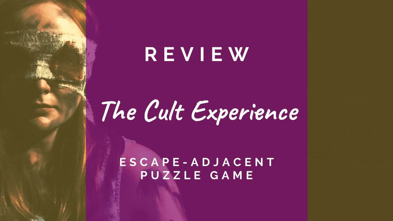 The Cult Experience puzzle book review