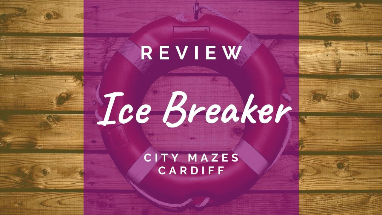 Ice Breaker review at City Mazes Cardiff