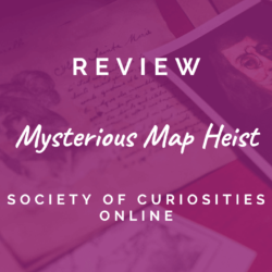 Society of Curiosities – Mysterious Map Heist [REVIEW]