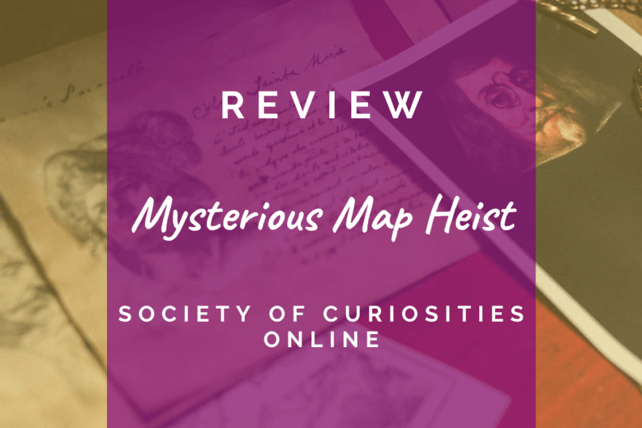 Mysterious map heist review image