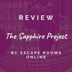 RC Escape Room games – The Sapphire Project [REVIEW]