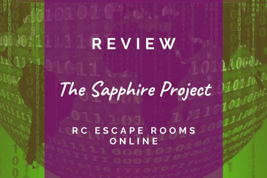 The Sapphire Project review header