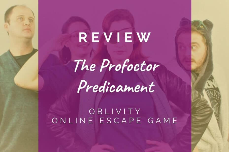 The Profoctor Predicament - Oblivity review