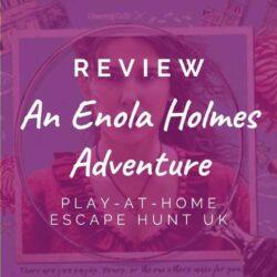 Escape Hunt – An Enola Holmes Adventure [REVIEW]