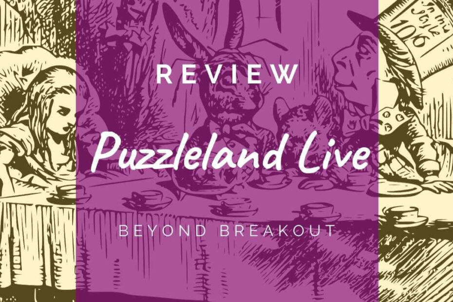 Puzzleland Live - Beyond Breakout review header