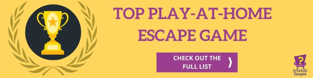 Top play-at-home-escape game award banner